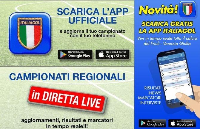 SCARICA L'APP - Scarica o aggiorna la App Italiagol